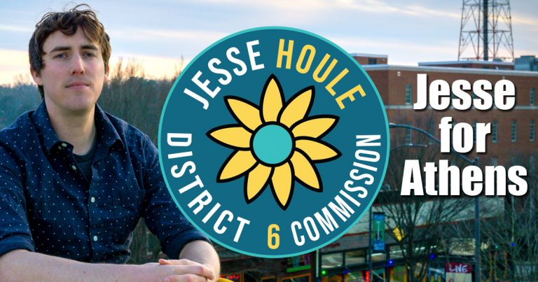 Jesse Houle to run for Athens-Clarke County Commission