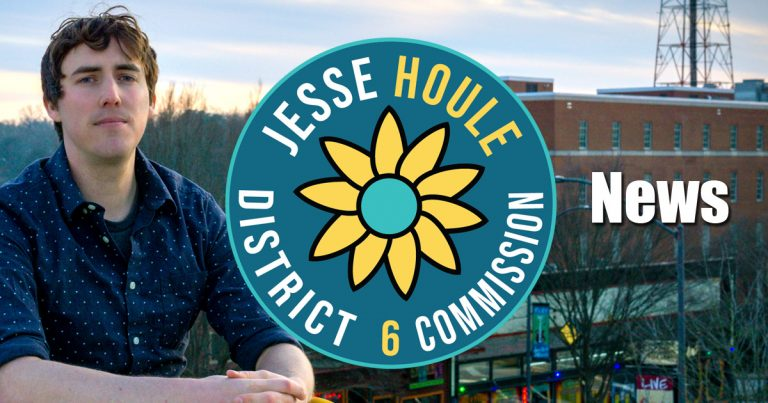 Voters elect Jesse Houle to the Athens-Clarke County Commission